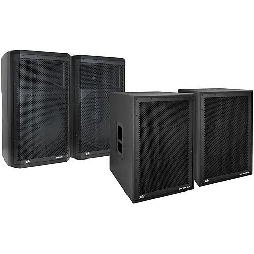 Peavey Dark Matter DM115 Powered Speaker and Sub Pair-thumbnail