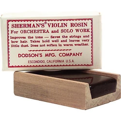 Sherman Dark Violin and Viola Rosin