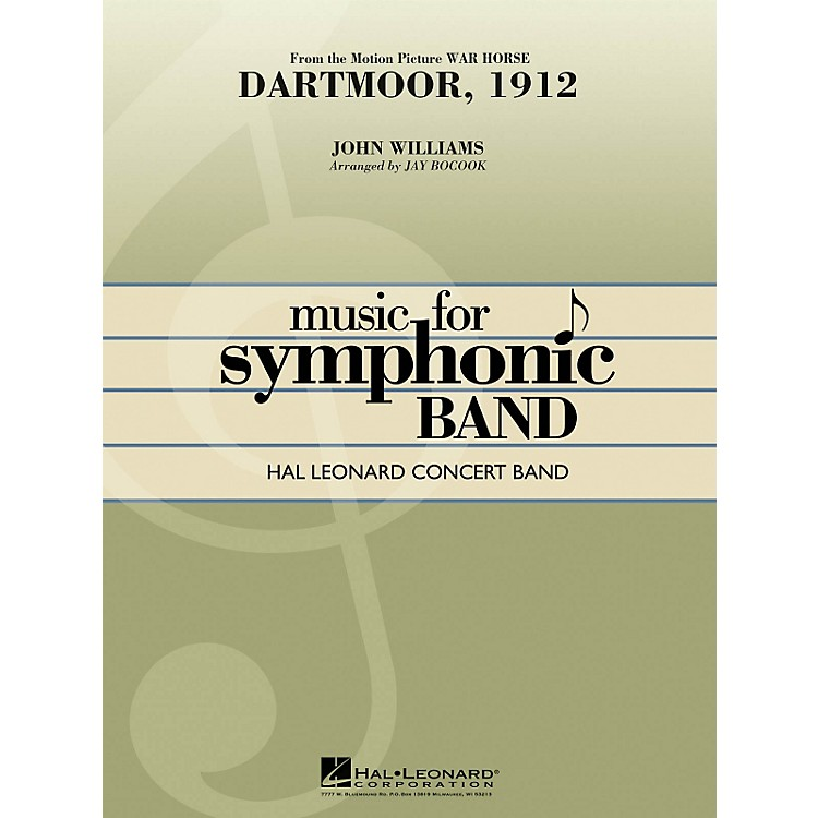 Hal LeonardDartmoor, 1912 (From War Horse) - Hal Leonard Concert Band Series Level 4