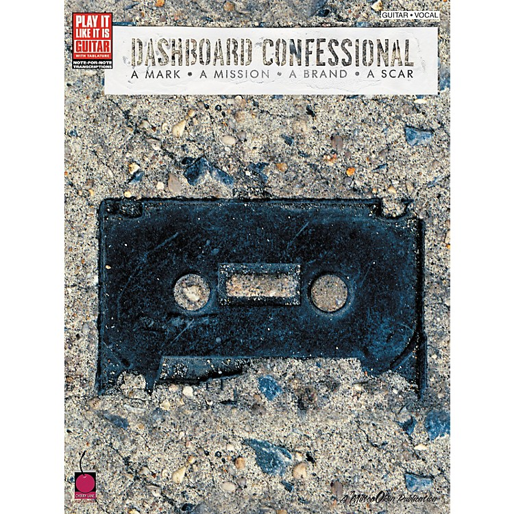 Cherry Lane Dashboard Confessional A Mark A Mission A Brand A Scar Guitar Tab Songbook