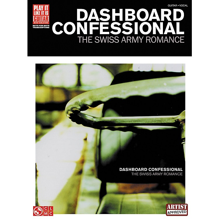 Cherry Lane Dashboard Confessional The Swiss Army Romance Guitar Tab Songbook