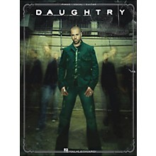 Hal Leonard Daughtry arranged for piano, vocal, and guitar (P/V/G)