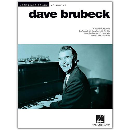 Hal Leonard Dave Brubeck - Jazz Piano Solos Volume 42-thumbnail