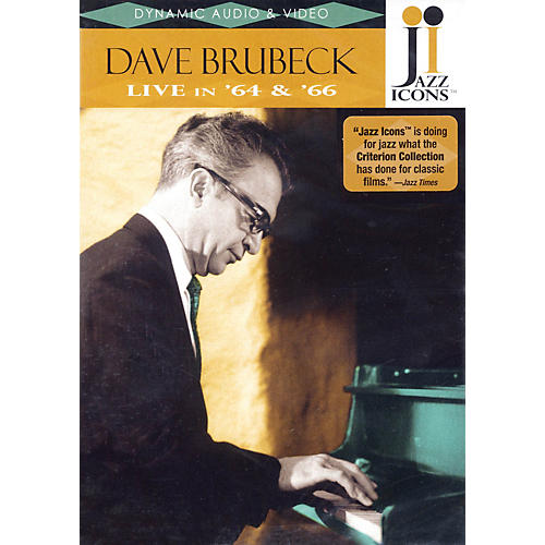 Jazz Icons Dave Brubeck - Live in '64 and '66 Live/DVD Series DVD Performed by Dave Brubeck-thumbnail
