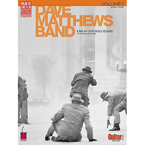 Cherry Lane Dave Matthews Band - Live in Chicago,Volume 1 Book-thumbnail
