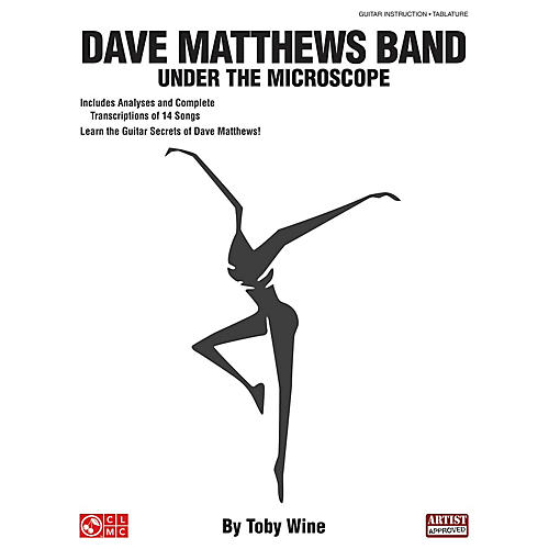 Cherry Lane Dave Matthews Band - Under the Microscope Guitar Educational Series Softcover Written by Toby Wine-thumbnail