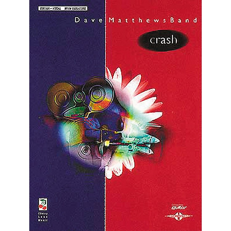 Hal Leonard Dave Matthews Band Crash Guitar Tab Songbook