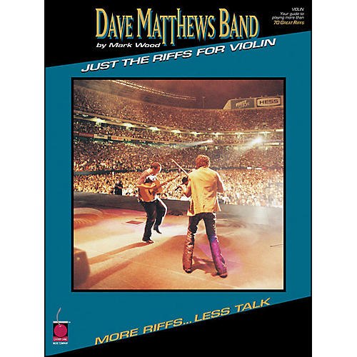 Cherry Lane Dave Matthews Band Just The Riffs Violin Edition