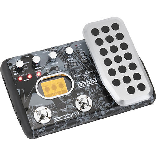Zoom Dave Mustaine Signature G2.1DM Guitar Multi Effects Pedal/USB Interface
