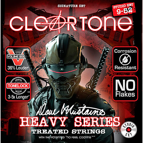 Cleartone Dave Mustaine Signature Studio Set Electric Guitar Strings (9-52)-thumbnail