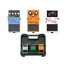 Boss Dave Navarro Pedal Pack (CH-1, TU-3, DS-1) with Free BCB30 Pedal Board