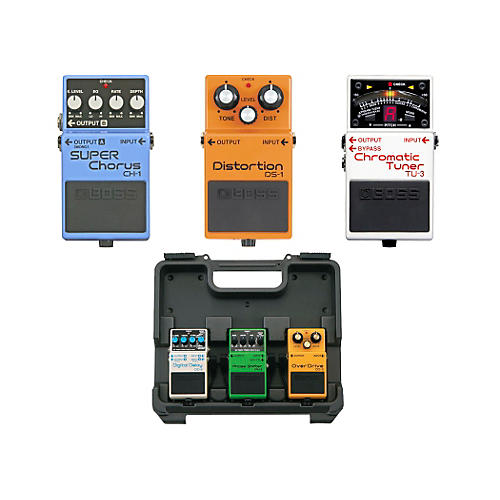 Boss Dave Navarro Pedal Pack (CH-1, TU-3, DS-1) with Free BCB30 Pedal Board-thumbnail