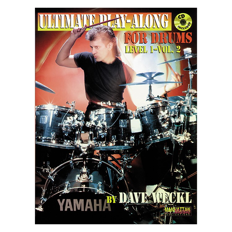 AlfredDave Weckl Ultimate Play-Along Drum Trax Level 1 Volume 2 / Book & 2 CDs
