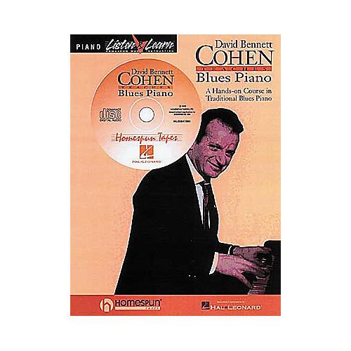 Hal Leonard David Bennett Cohen Teaches Blues Piano Book/CD