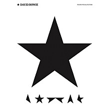 Music Sales David Bowie - Blackstar Piano/Vocal/Guitar Artist Songbook