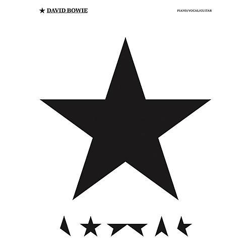 Music Sales David Bowie - Blackstar Piano/Vocal/Guitar Artist Songbook