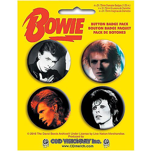 C&D Visionary David Bowie Button Set-thumbnail