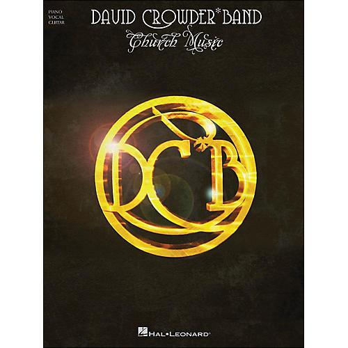 Hal Leonard David Crowder*Band - Church Music arranged for piano, vocal, and guitar (P/V/G)-thumbnail