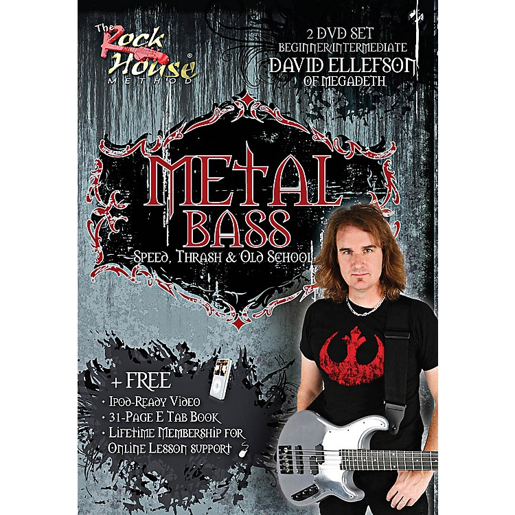 Rock HouseDavid Ellefson of Megadeth Metal Bass Speed, Thrash & Old School DVD
