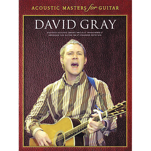 Wise Publications David Gray Guitar Tab Songbook