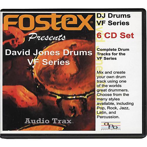 Fostex David Jones Drums VF Series (6-CD set)-thumbnail