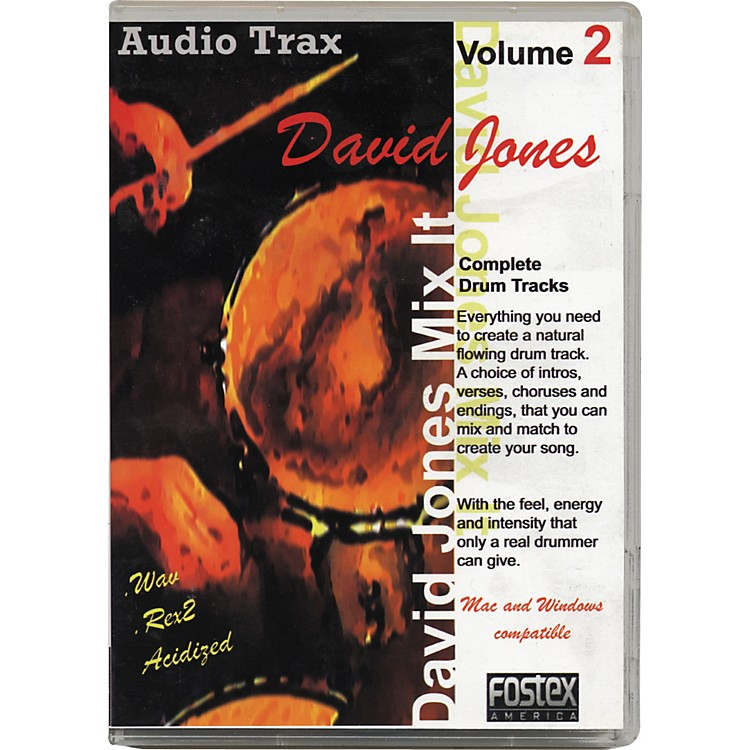 Fostex David Jones Mix It Volume 2