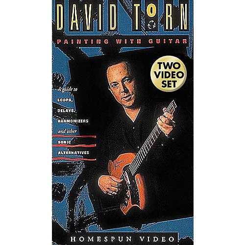 Hal Leonard David Torn - Painting with Guitar - 2-Video Set-thumbnail