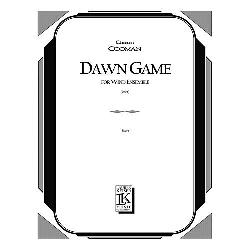 Lauren Keiser Music Publishing Dawn Game (for Wind Ensemble) LKM Music Series by Carson Cooman-thumbnail
