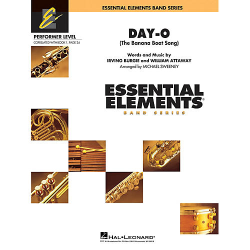 Cherry Lane Day-O (The Banana Boat Song) Concert Band Level .5 to 1 Arranged by Michael Sweeney-thumbnail