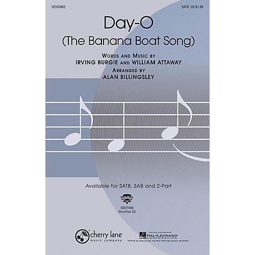 Hal Leonard Day-O (The Banana Boat Song) ShowTrax CD Arranged by Alan Billingsley
