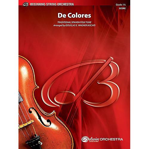 Alfred De Colores String Orchestra Grade 1.5 Set-thumbnail