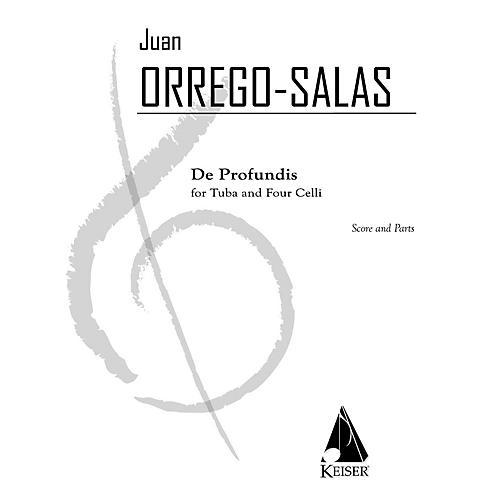 Lauren Keiser Music Publishing De Profundis (for Tuba and 4 Cellos) LKM Music Series-thumbnail