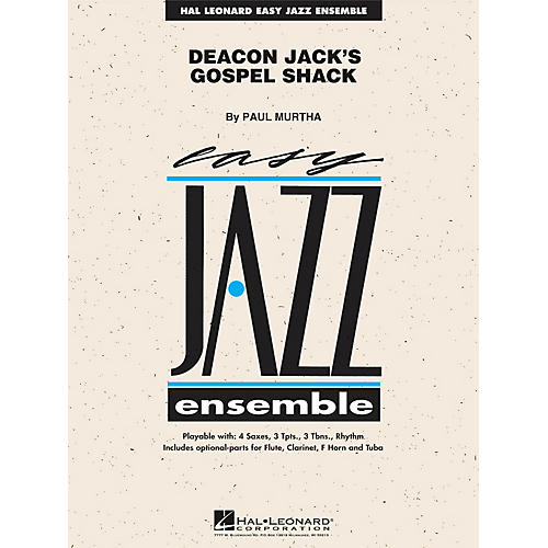 Hal Leonard Deacon Jack's Gospel Shack Jazz Band Level 2 Composed by Paul Murtha