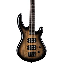 Dean Edge 2 Spalt Maple Electric Bass Guitar Charcoal Burst