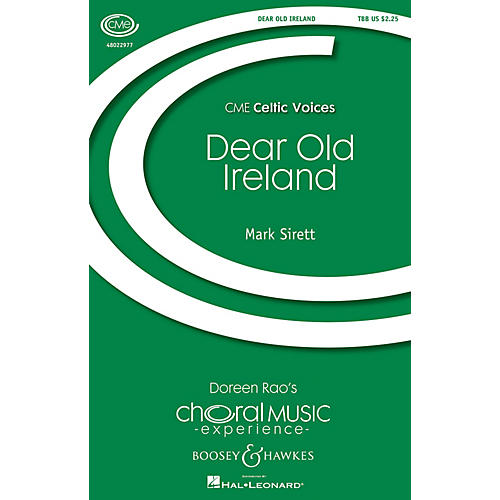 Boosey and Hawkes Dear Old Ireland (CME Celtic Voices) TBB composed by Mark Sirett-thumbnail