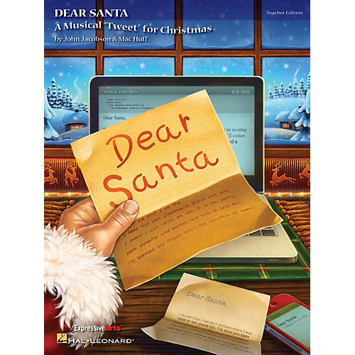 Hal Leonard Dear Santa (A Musical Tweet for Christmas) Performance/Accompaniment CD Composed by John Jacobson