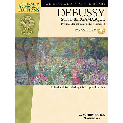 G. Schirmer Debussy - Suite bergamasque Schirmer Performance Edition BK/Audio Online Edited by Christopher Harding-thumbnail