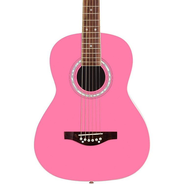 Daisy RockDebutante Junior Miss Short Scale Acoustic GuitarBubblegum