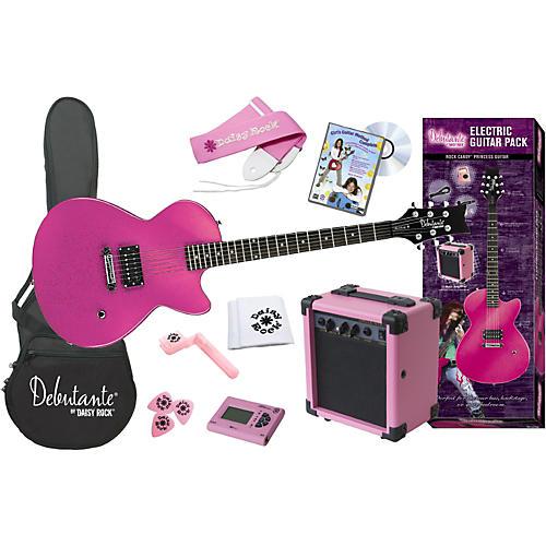 Daisy Rock Debutante Rock Candy Princess Electric Guitar Pack