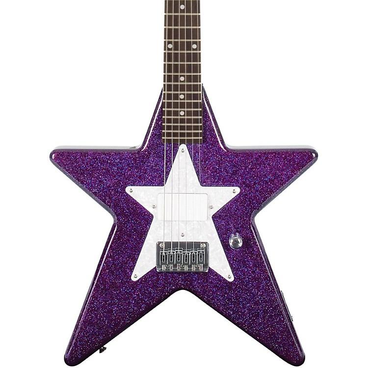 Daisy RockDebutante Star Short Scale Electric GuitarCosmic Purple