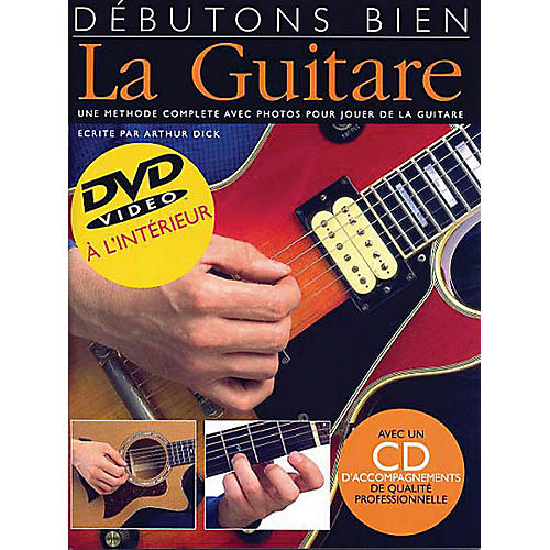Music Sales Debutons Bien: La Guitare Music Sales America Series Written by Arthur Dick-thumbnail