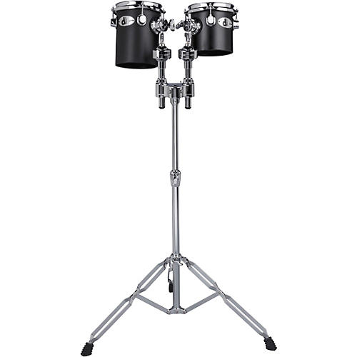 Ddrum Deccabons, Black 6 in. and 8 in. Black 6