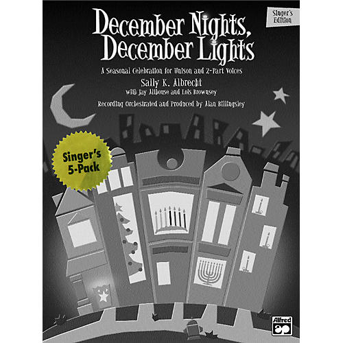 Alfred December Nights, December Lights:  Student 5 Pack