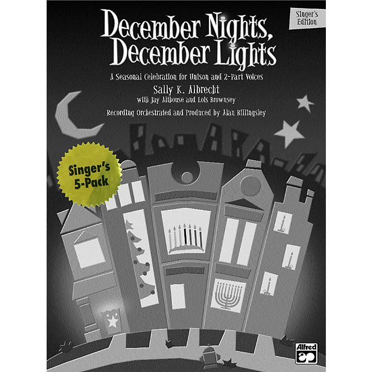 AlfredDecember Nights, December Lights:  Student 5 Pack