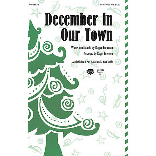 Hal Leonard December in Our Town 3 Part Treble-thumbnail