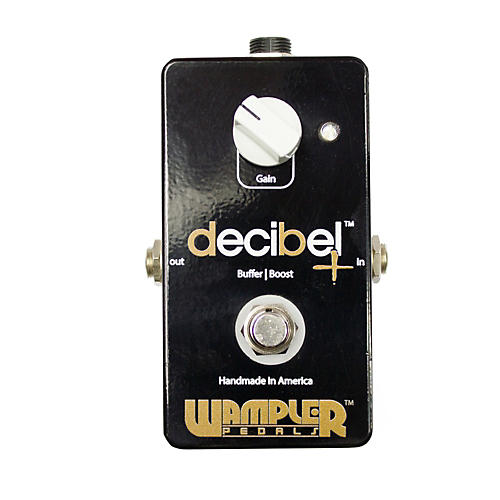 Wampler Decibel + - Boost/Buffer Guitar Effects Pedal