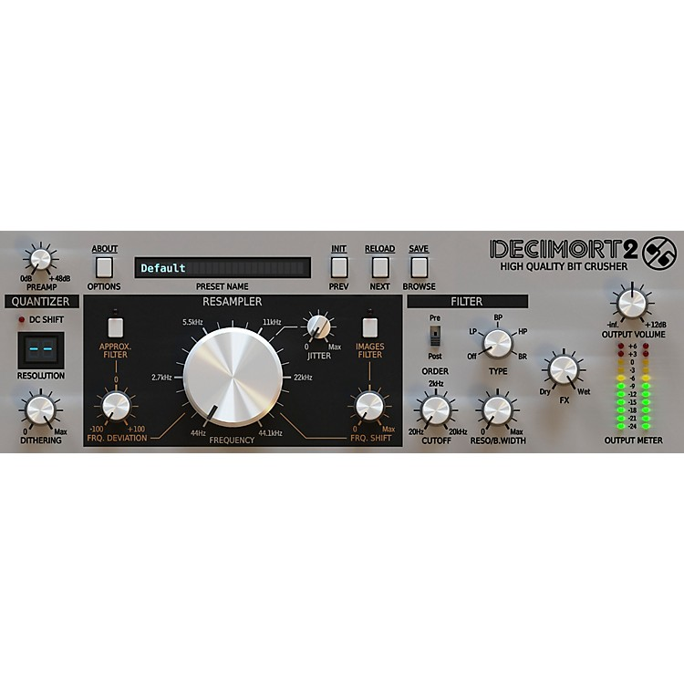 D16 Group Decimort -Premium grade bit crusher plug-in (VST/AU) Software Download
