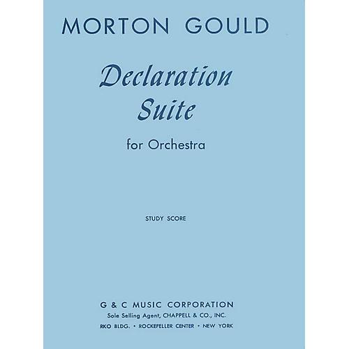 G. Schirmer Declaration Suite (Study Score) Study Score Series Composed by Morton Gould-thumbnail