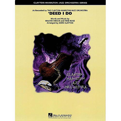 Hal Leonard Deed I Do Jazz Band Level 5 Arranged by John Clayton-thumbnail