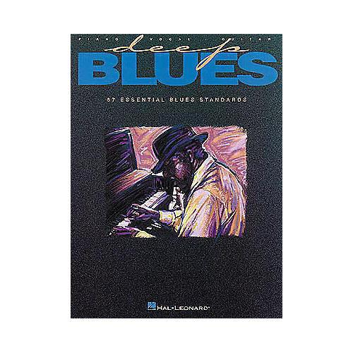 Hal Leonard Deep Blues Piano/Vocal/Guitar Songbook-thumbnail